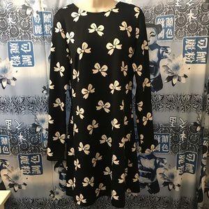 Adorable Julie Brown Dress Size L